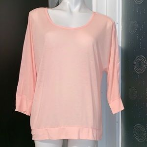 New American Eagle Outfitters Peach Top Blouse